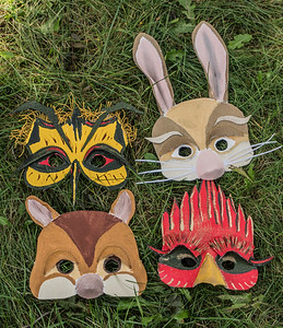Spreading Roots animal masks - rag & bone